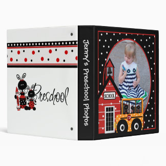Customized Photo Preschool Binder