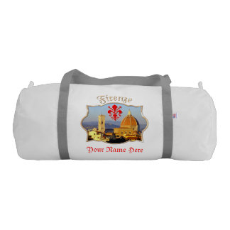 Customized Pictures From Florence, Italy Gym Bag