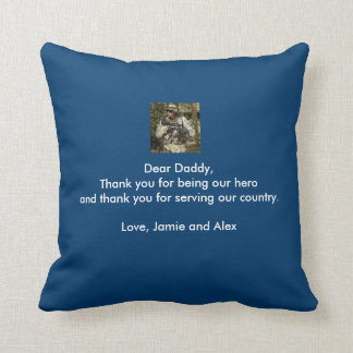 Customized Pillow with Message and Photo