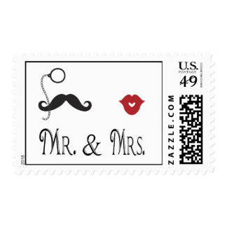 Customized Postage Stamp for Wedding Invitations