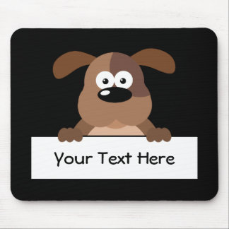 Customized Pup Sign Mouse Pad