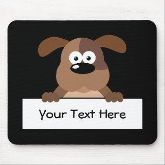 Customized Pup Sign Mousepads