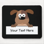 Customized Pup Sign Mousepads
