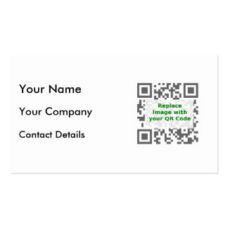 Customized QR Code For Mobile Phone Business Card