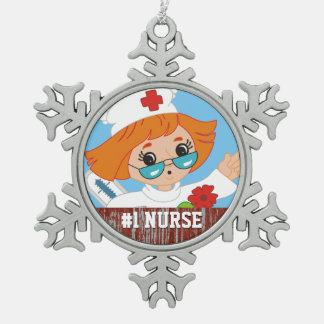 Customized RN Registered Nurse #1 Best Nurse Gift Ornament