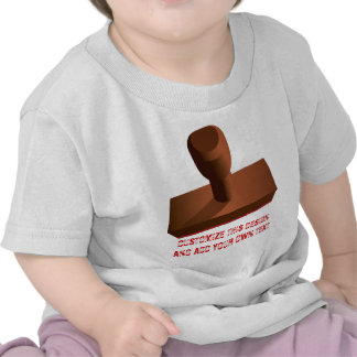Customized Rubber Stamp impression 1 T-shirts