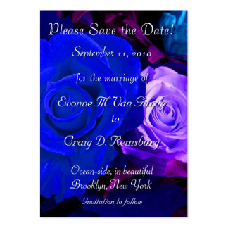 Customized Save The Date I Large Business Cards (Pack Of 100)