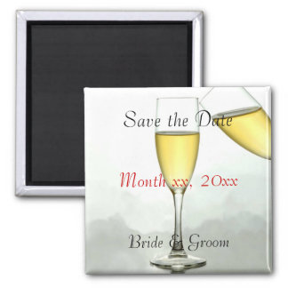 Customized Save the Date Magnet