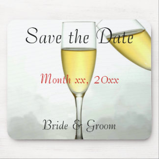 Customized Save the Date Mouspad Mouse Pads