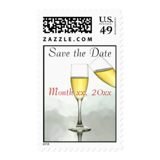 Customized Save the Date Stamps