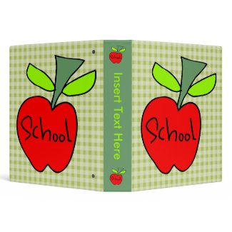Customized School Avery Binder binder
