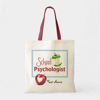 Customized School Psychologist Tote Budget Tote Bag