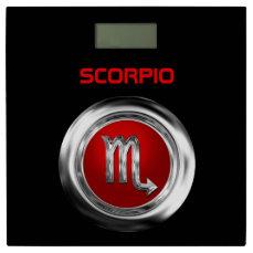 Customized Scorpio Zodiac Symbol Bathroom Scale