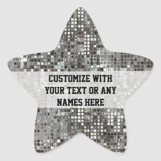 Customized Sequins Star Sticker