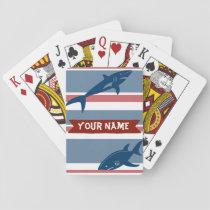 Customized Shark Playing Cards