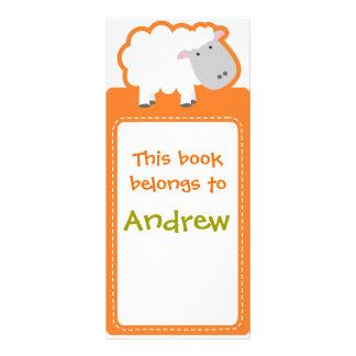 Customized*Sheep marca una dirección de la Interne Tarjeta Publicitaria Personalizada