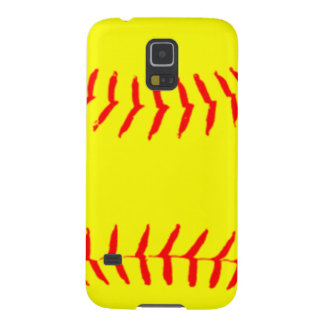 Customized Softball Case For Galaxy S5