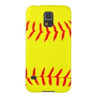 Customized Softball Galaxy S5 Cover