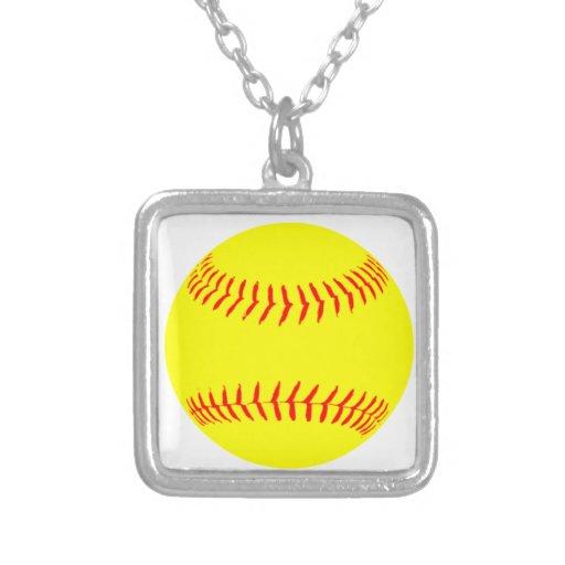 Customized Softball Custom Necklace