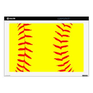 Customized Softball Laptop Decals