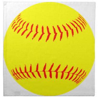 Customized Softball Napkin