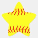 Customized Softball Stickers