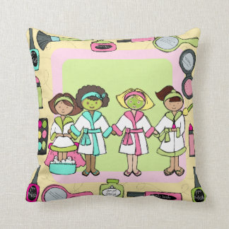 Customized  Spa Party Pillow