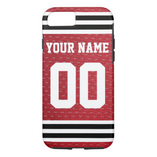 Customized Sports Hockey Jersey iPhone 7 Case