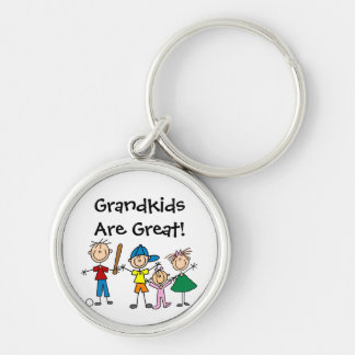 Customized Stick Figure Family Keychains