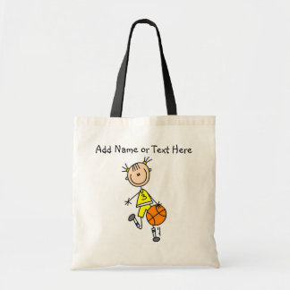 Customized  Stick Girl Basketball Bag