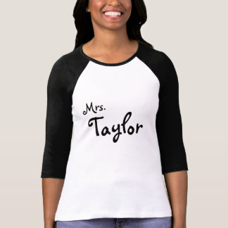 Customized Tee for wives