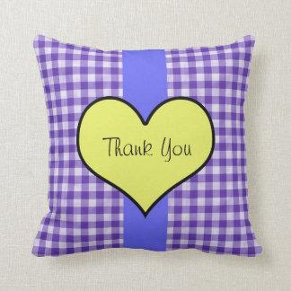 Customized Thank You Throw Pillow