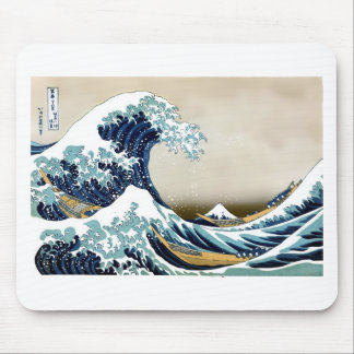 Customized The Great Wave off Kanagawa Gifts Mouse Pad