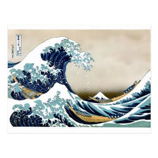 Customized The Great Wave off Kanagawa Gifts Postcard
