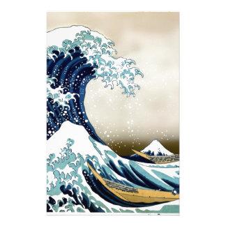 Customized The Great Wave off Kanagawa Gifts Stationery
