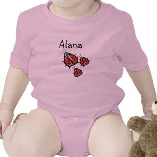 Customized Three Little Ladybug Shirt