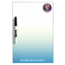 Customized Tower Bridge Dry Erase Board