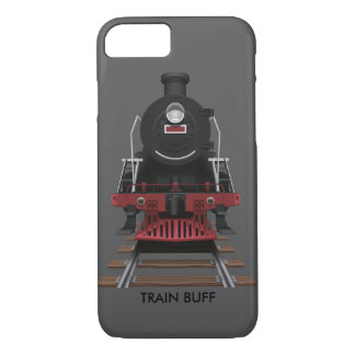 Customized Train Engine Vintage Railroad Any Color iPhone 7 Case