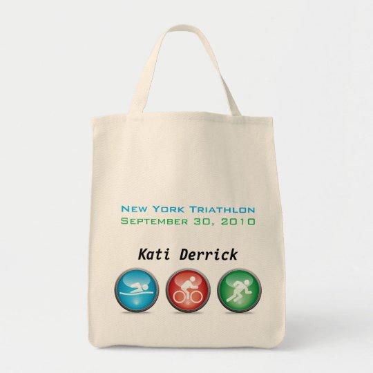 Customized Triathlon Race Day Bag