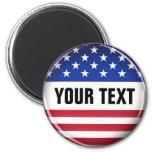 Customized USA Magnet