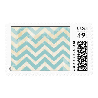 Customized Vintage Chevron Stamps