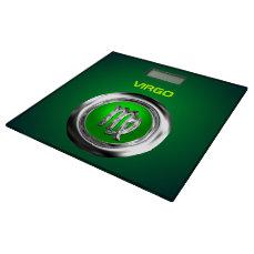 Customized Virgo Zodiac Symbol Bathroom Scale