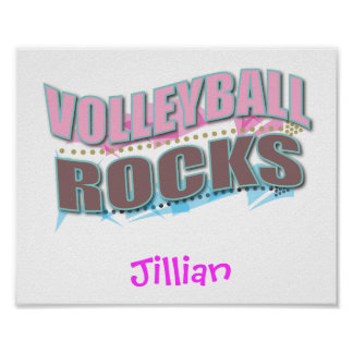 Customized VOLLEYBALL Gift Print