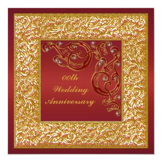 Customized Wedding Anniversary Party Invitation