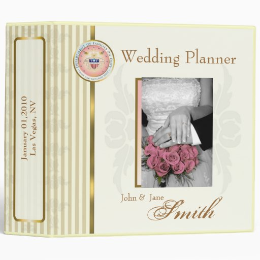Customized Wedding/Anniversary/Special Occasion Binder