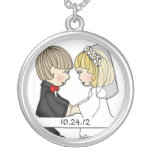 Customized Wedding Pendant Jewelry Gift