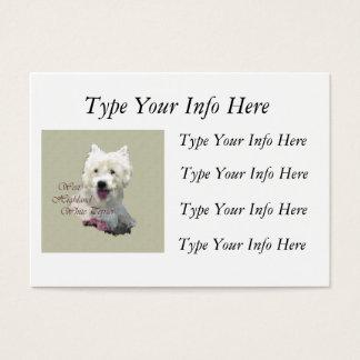 Customized Westie Profile Cards