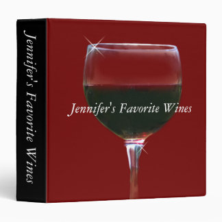 Customized Wine Binder