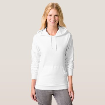 Beach Themed Customized Womens Pullover Hoodie