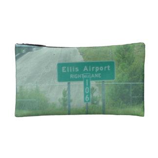Customized Writstlet-Ellis Airport NC landmark Cosmetic Bag